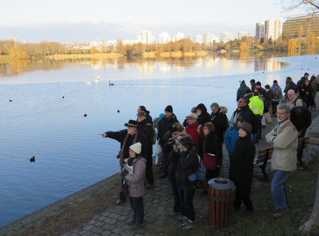 Visite guidée des richesses du lac sur le Parisien du 29 janvier 2017