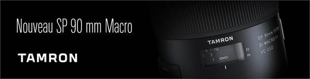 Nouveau SP90 F/2,8 MACRO VC TAMRON